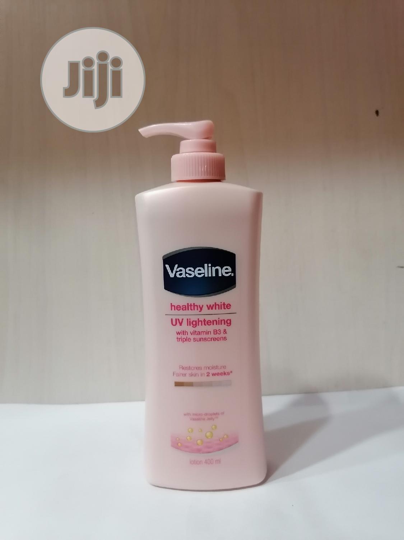 Vaseline Healthy White