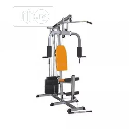 One Station Gym With 50kg Vinyl Weight Stack