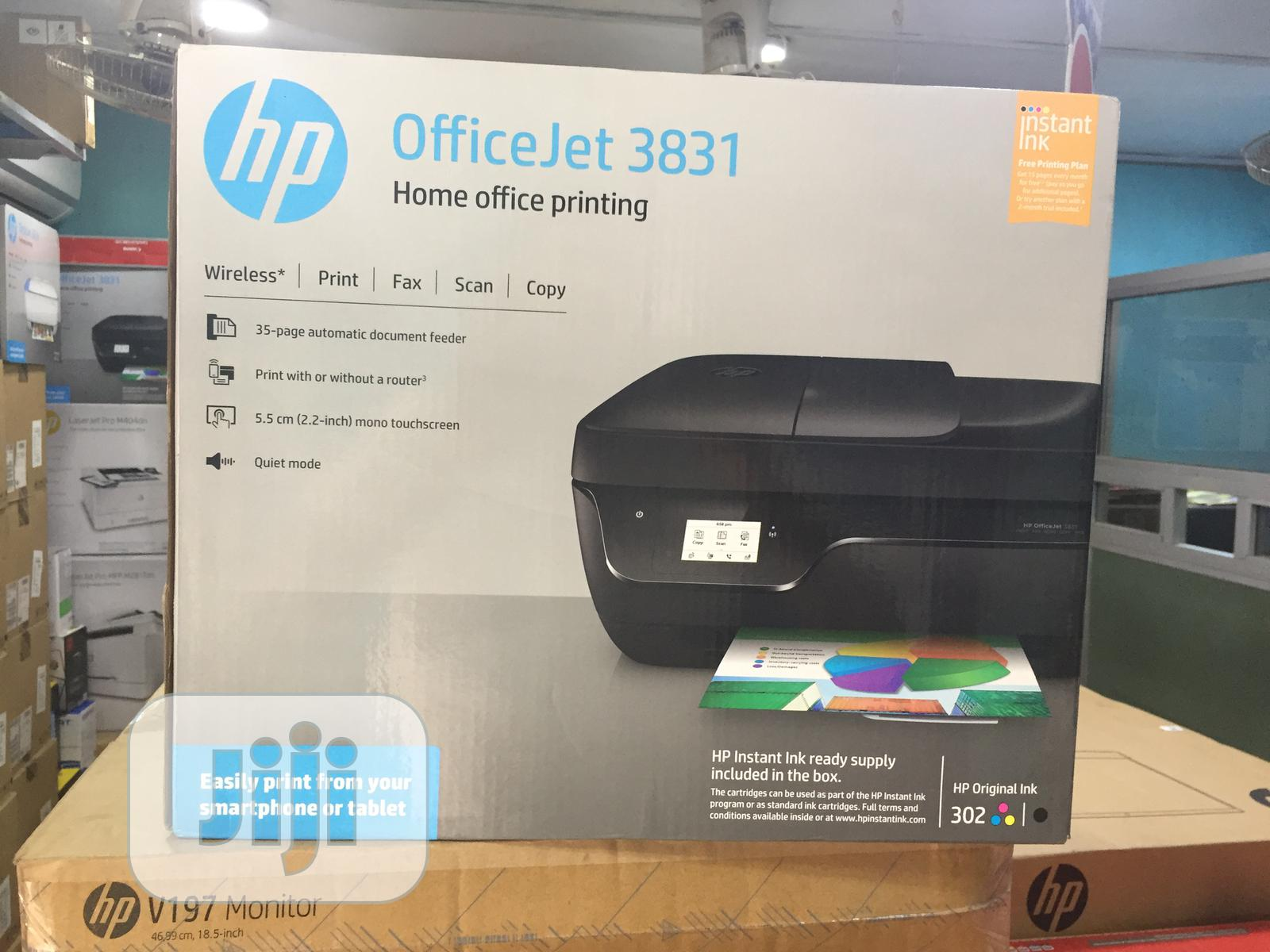 HP Officejet Pro 3831 All-in-one Printer