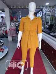 Top Quality and Elegant Ladies Silk Material 2pcs | Clothing for sale in Lagos State, Ojodu