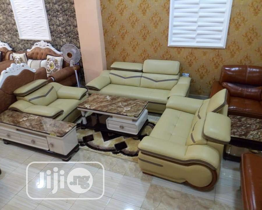 7 Seater Leather Turkey Sofa