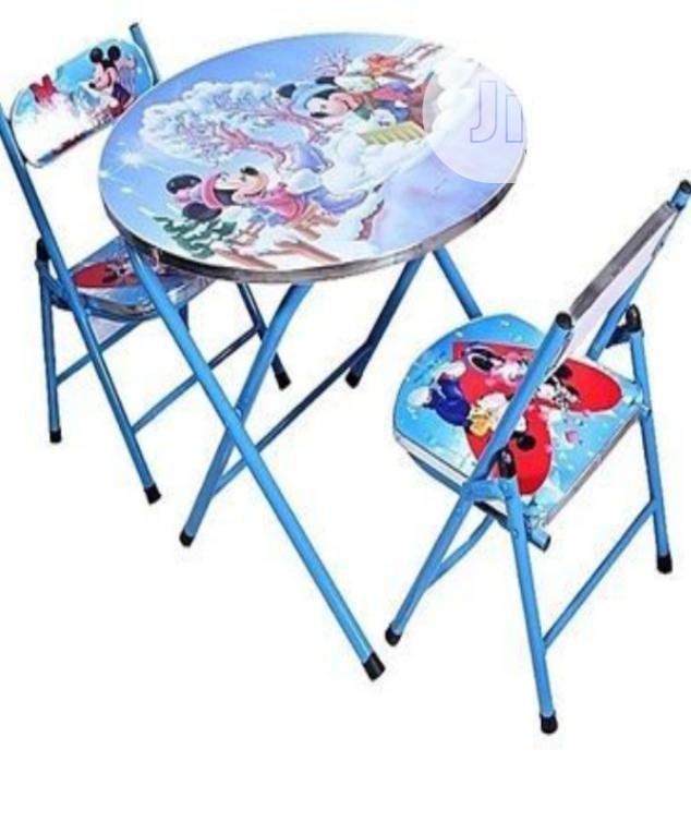 Children Character Table And Double Chair