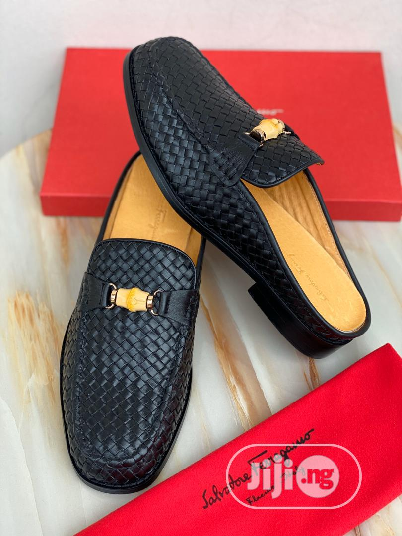 Salvatore Ferragamo Half Shoe for Men