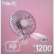 Speed Fan With External Battery 4000mah H1200 | Electrical Equipment for sale in Lagos State, Ikeja