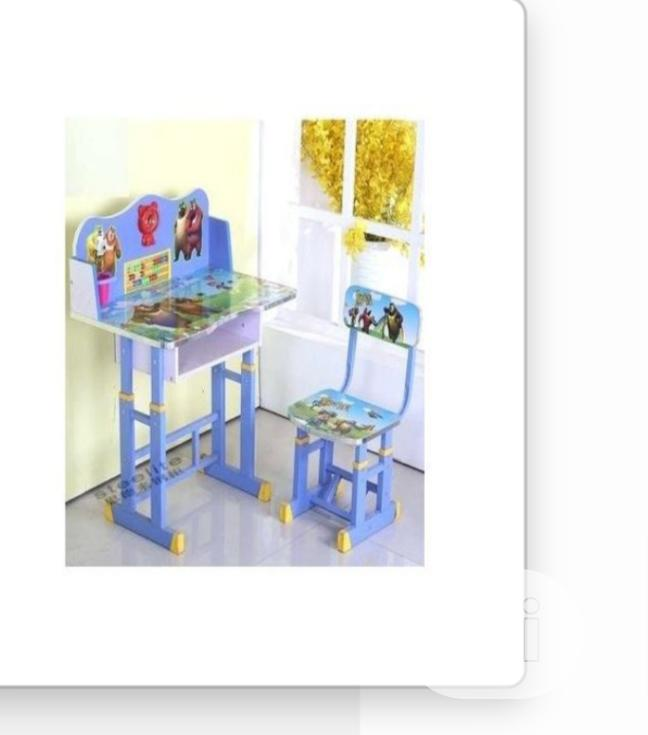 Kids Character Table And Chairs