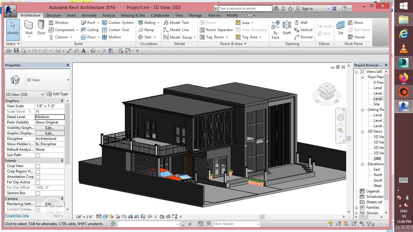 Autocad,Sketchup,Revit,3ds Max Training   Classes & Courses for sale in Surulere, Lagos State, Nigeria