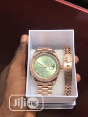 Classic Rolex Wristwatch With Branded Bracelet Available as Seen | Jewelry for sale in Lagos State, Lagos Island