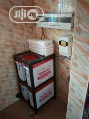 4 TUBULAR Batteries 200ah, 5KVA Inverter, 60a Charge Controller Etc | Electrical Equipment for sale in Lagos State, Ojo