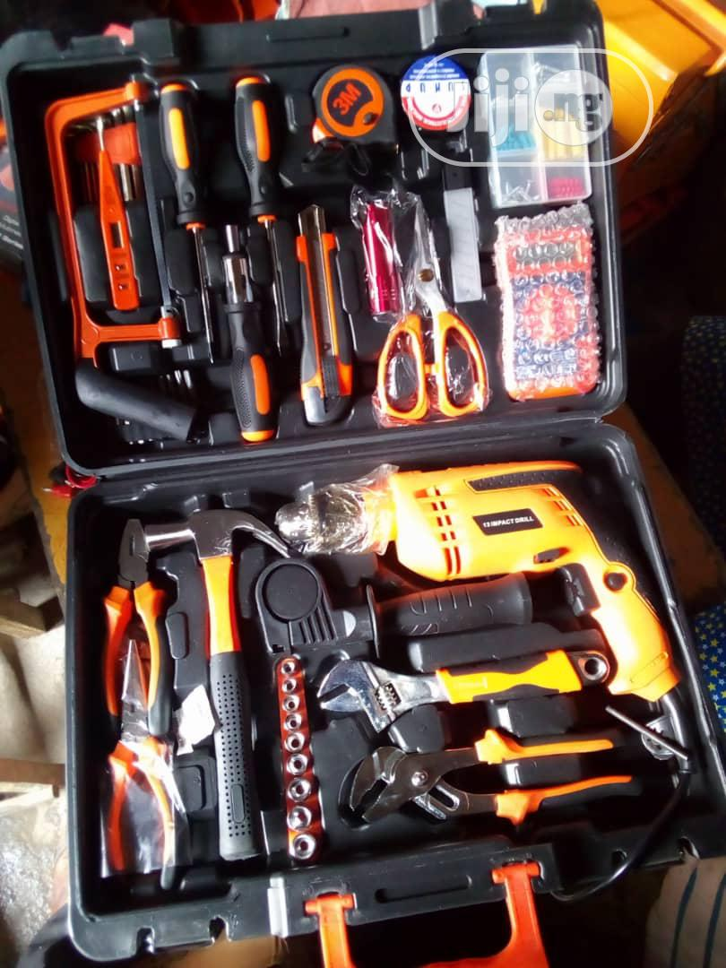 Tools Box With Electric Drill