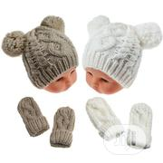 Soft Touch Infants Cap And Mitten Set | Children's Clothing for sale in Edo State, Benin City