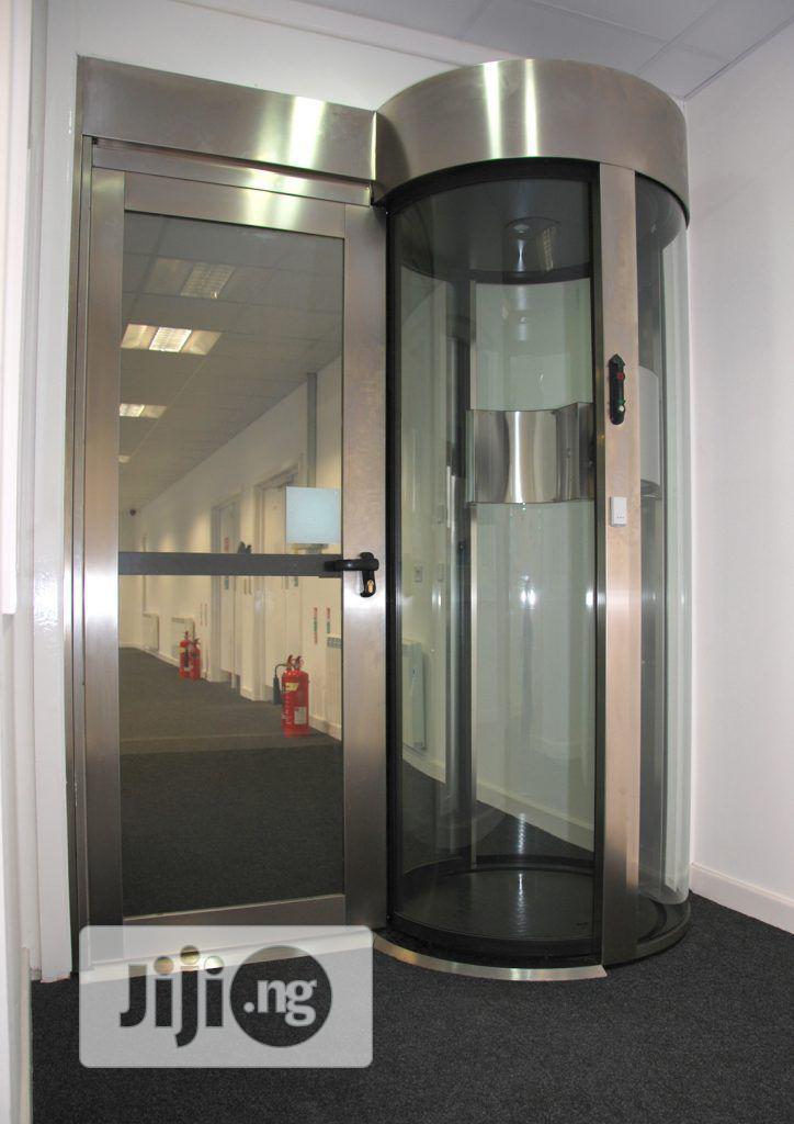mantrap security door