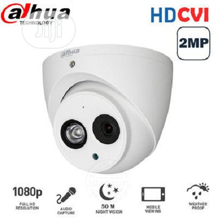 Dahua 2MP Dome CCTV Camera DH-HAC-HDW1200EMP-A 3.6mm Built-in Mic HDCV