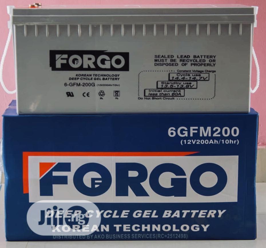 FORGO Solar Battery 12v/200ah | Solar Energy for sale in Ojo, Lagos State, Nigeria