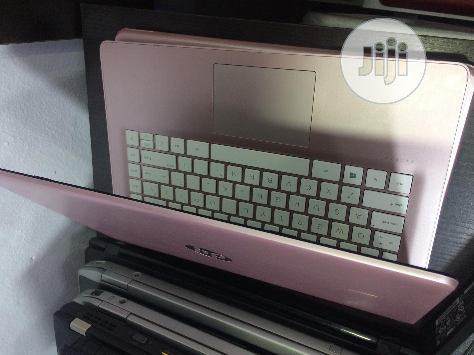 Laptop HP Stream 14 4GB Intel SSD 32GB | Laptops & Computers for sale in Ikeja, Lagos State, Nigeria