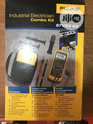 Fluke 87v/ E2 Kit Industrial Digital Multimeter | Measuring & Layout Tools for sale in Kano State, Fagge