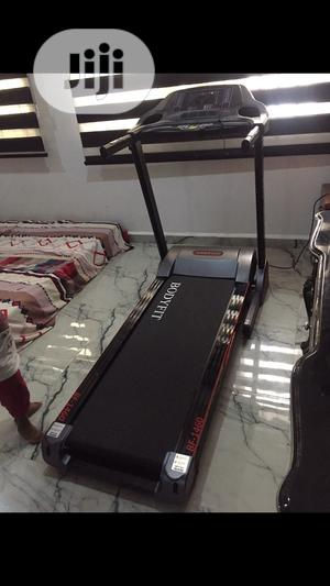Brand New Imported Bodyfit 3HP Treadmill, Nationwide Delivery Included | Sports Equipment for sale in Lagos State