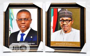 Official Portrait Frames of President Buhari, Governors Etc | Arts & Crafts for sale in Lagos State, Isolo