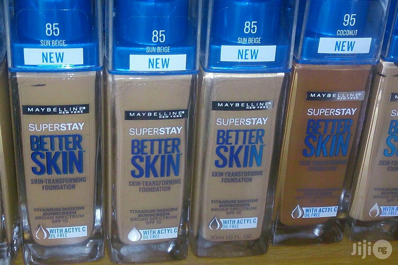 Maybelline Better Skin Foundation