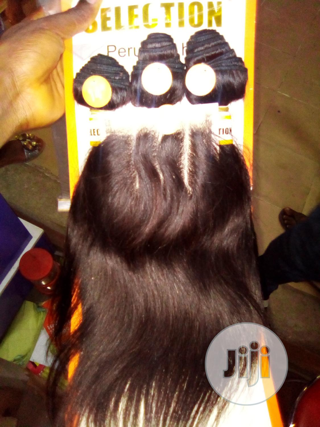 Archive: Hi Selection Peruvian Hair 14inches With Full Closure