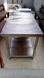 6ft Stainless Steel Work Table | Restaurant & Catering Equipment for sale in Lagos State, Ojo