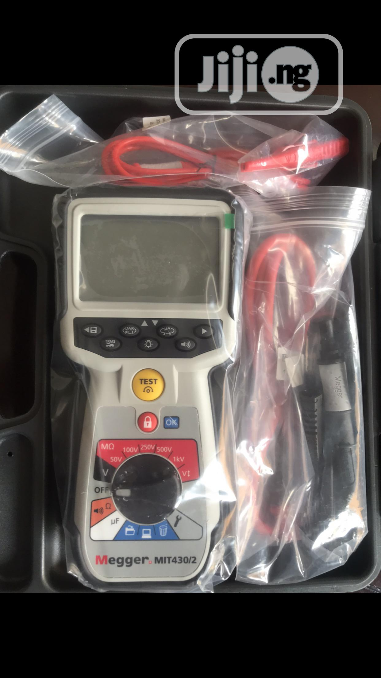 Megger Insulation Tester MIT430/2   Measuring & Layout Tools for sale in Ojo, Lagos State, Nigeria