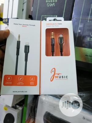 3.5mm Audio Cable To iPhone Lightening   Accessories & Supplies for Electronics for sale in Lagos State, Ikeja