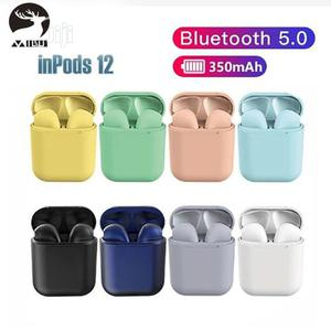 Inpods 12 Wireless In-ear Bluetooth Headset Earphones | Headphones for sale in Lagos State, Amuwo-Odofin