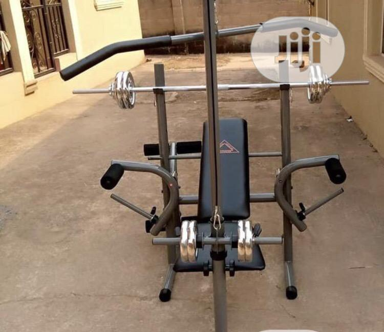 Archive: Imported Weight Bench With 30kg and Pull Lat