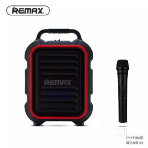 Microphone Song K Outdoor Bluetooth Speaker Remax X3   Audio & Music Equipment for sale in Lagos State, Ikeja