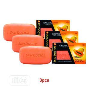 Skin Doctor Papaya And Kojic ACID Soap (3pcs | Bath & Body for sale in Lagos State, Ojo