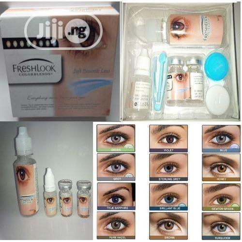 Fresh Look Colour Blend Contact Lenses Complete Pack- Contact Lens