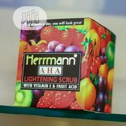 Herrmann Lightening Scrub With Vitamin E & Fruit Acid | Skin Care for sale in Lagos State, Ojo