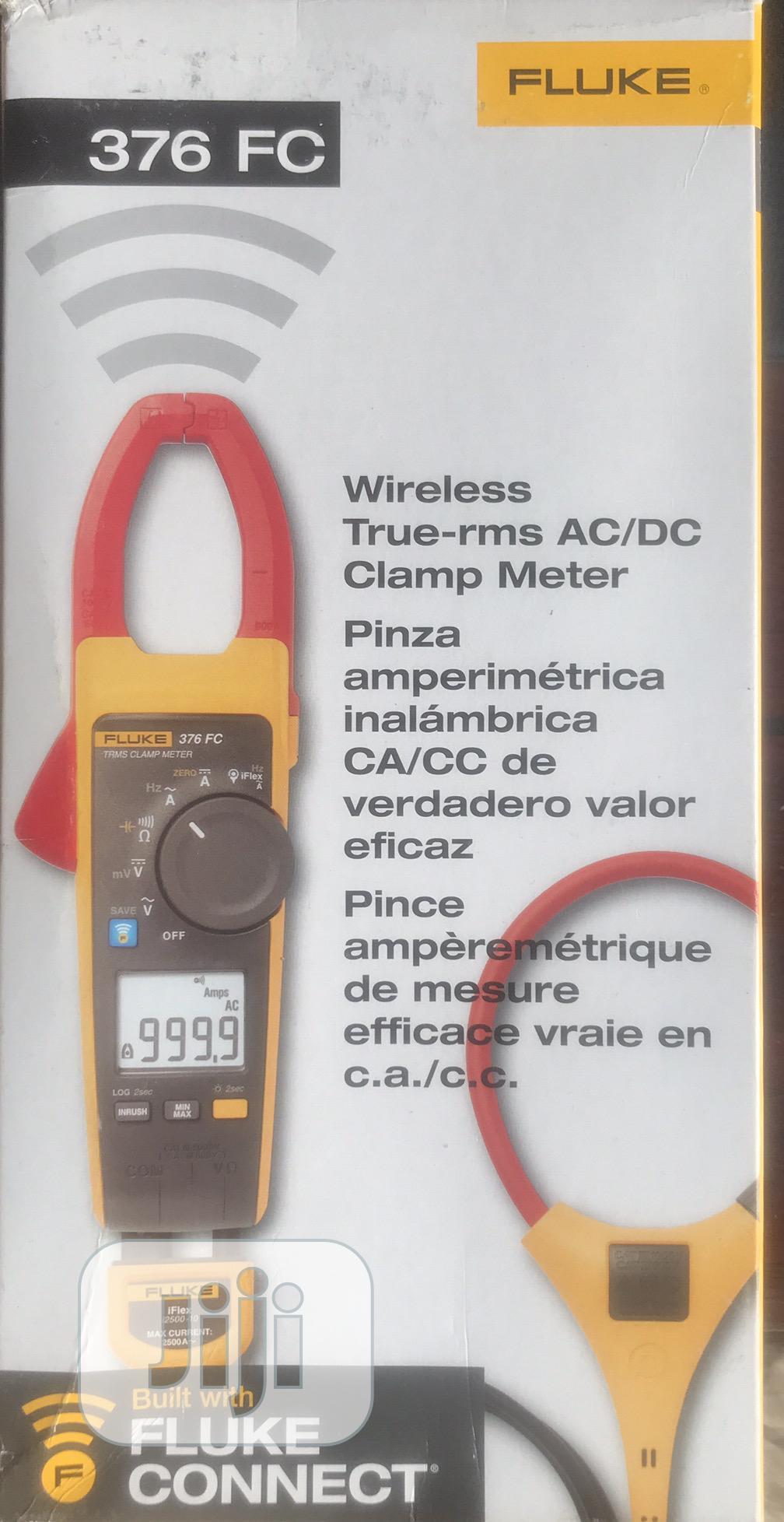 Fluke 376 AC/DC Digital Clamp Meter