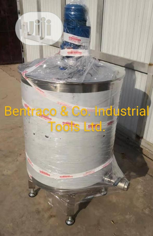 Original 500litres Stainless Steel Mixer