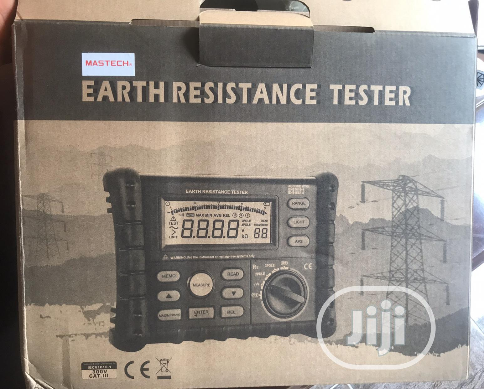 Earth Resistance Tester Mastech