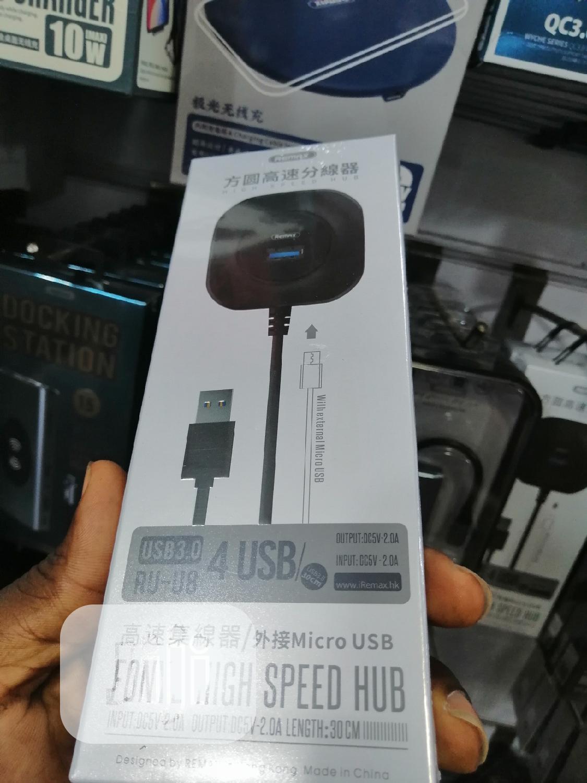 USB 3.0 Hub 4port Remax RU-U8   Computer Accessories  for sale in Ikeja, Lagos State, Nigeria