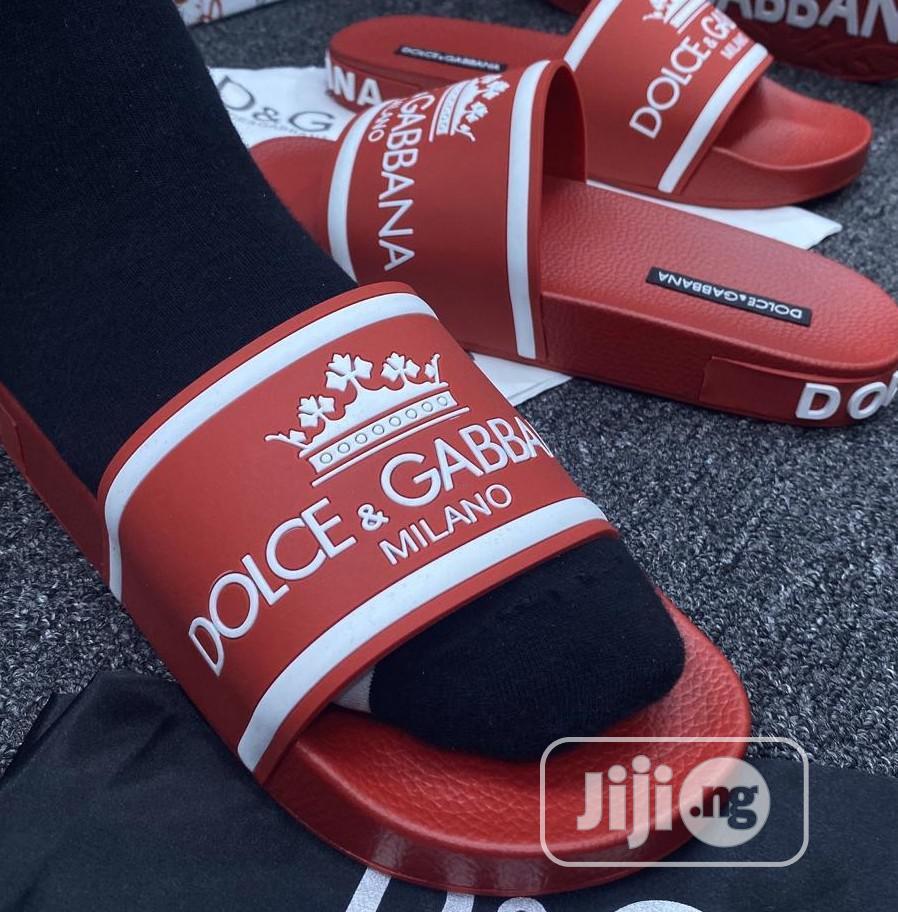 Dolce Gabbana Slippers | Shoes for sale in Lagos Island (Eko), Lagos State, Nigeria