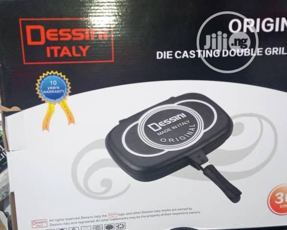 Dessini Dessini Die Casting Double Grill Pan