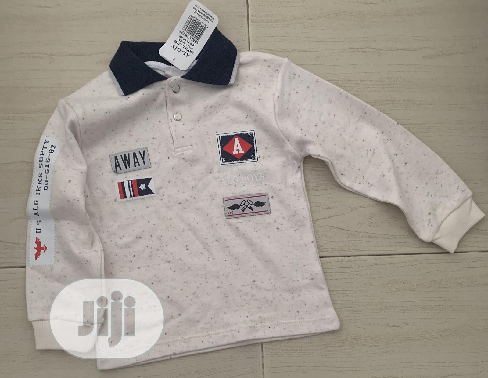 Archive: Toddler Polo Shirt Age 0-4 Years Boy