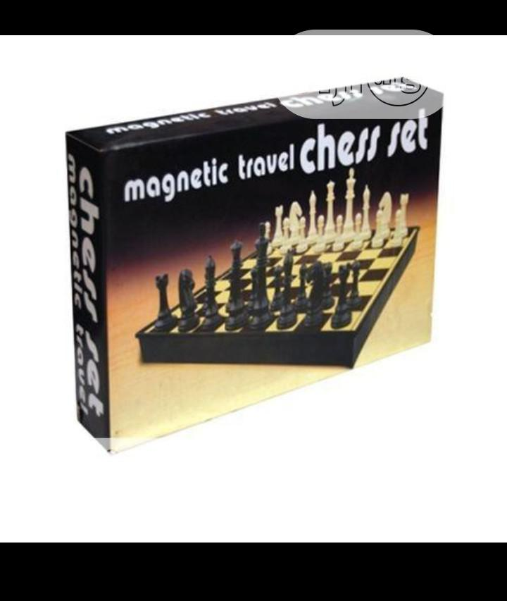 Archive: Magnetic Chess Game