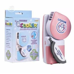 Universal Chef A&S Usb Or Battery Powered Mini Air-conditioner- Pink | Home Appliances for sale in Lagos State, Surulere