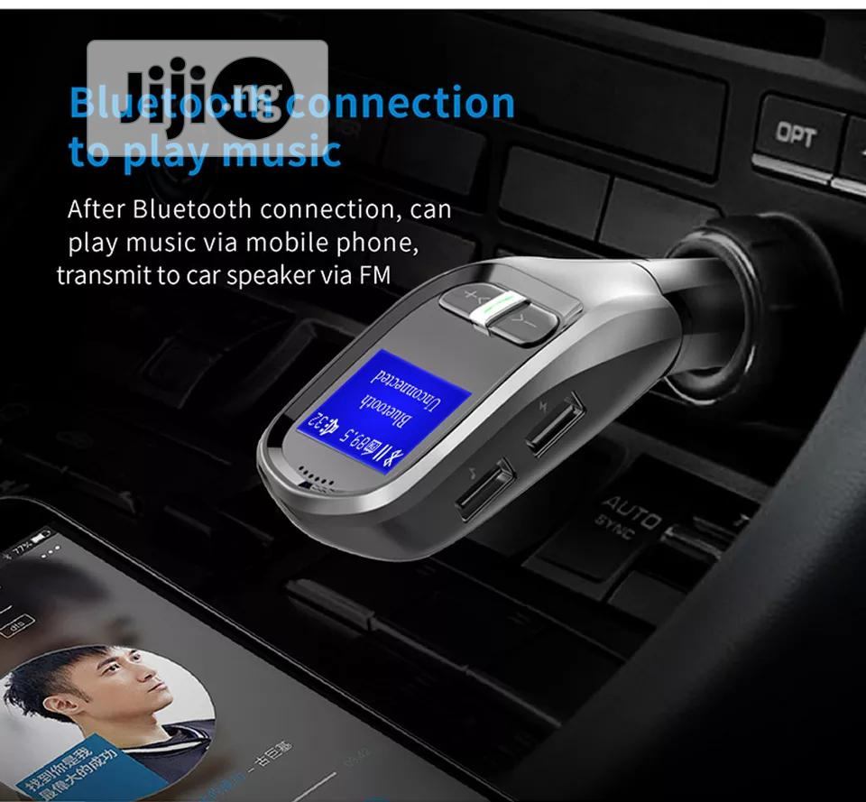 Retro Design Bluetooth FM Transmitter Car MP3 Player Aes | Vehicle Parts & Accessories for sale in Ikeja, Lagos State, Nigeria