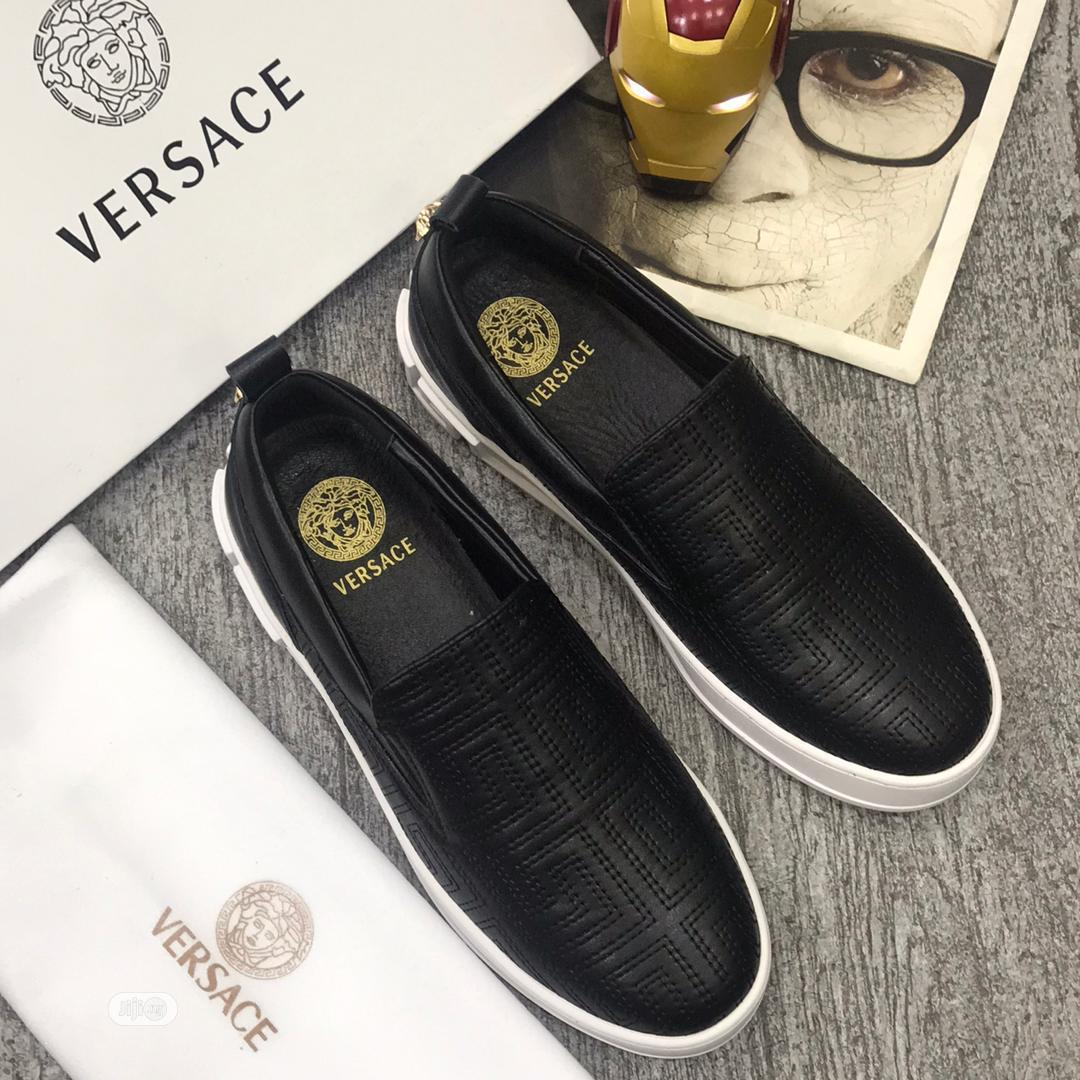 Archive: Versace Loafers Shoes for Men Available