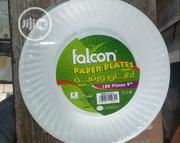 Falcon Paper Plates 100pcs | Kitchen & Dining for sale in Lagos State, Lagos Island