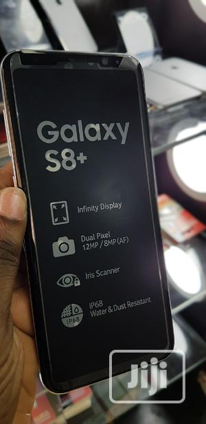 New Samsung Galaxy S8 Plus 128 GB Silver   Mobile Phones for sale in Lagos State, Ikeja