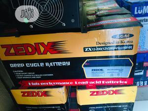 Zedix Solar Battery 12v/200ah | Solar Energy for sale in Lagos State, Ojo