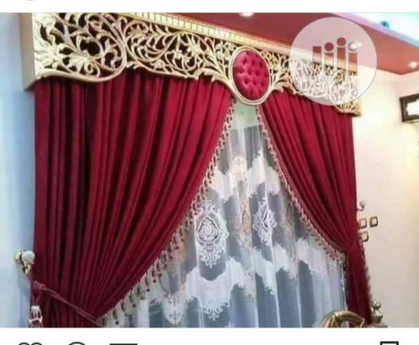 Royalty Red Blackout Curtains