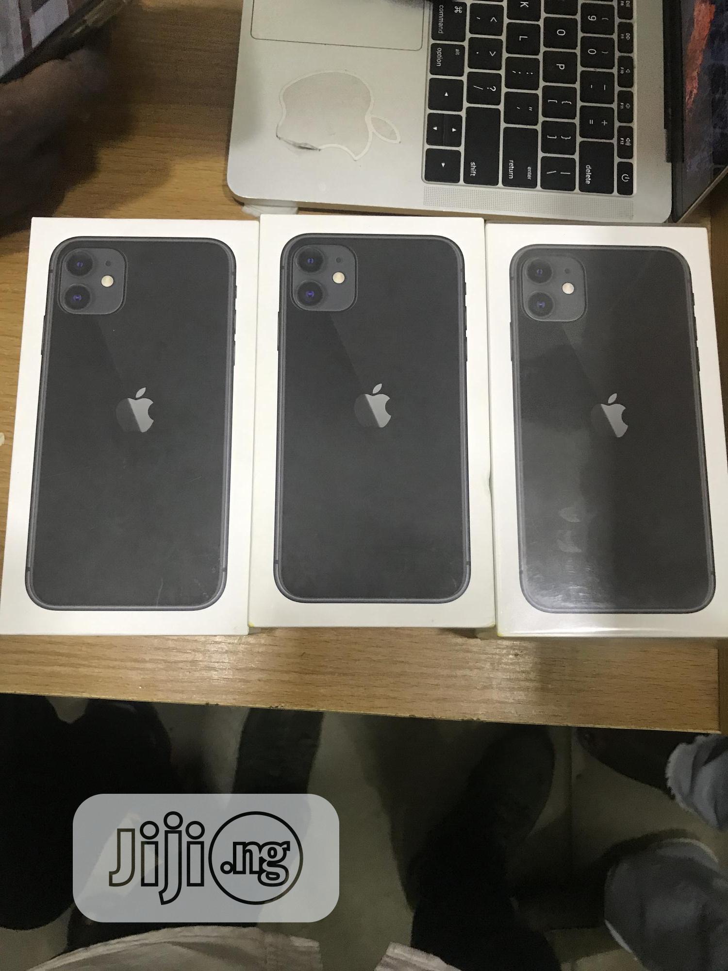 New Apple iPhone 11 64 GB Black   Mobile Phones for sale in Ikeja, Lagos State, Nigeria