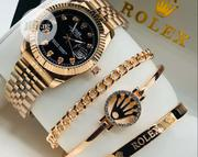 Rolex Fashion Wrist Watch and Bracelet   Jewelry for sale in Lagos State, Surulere