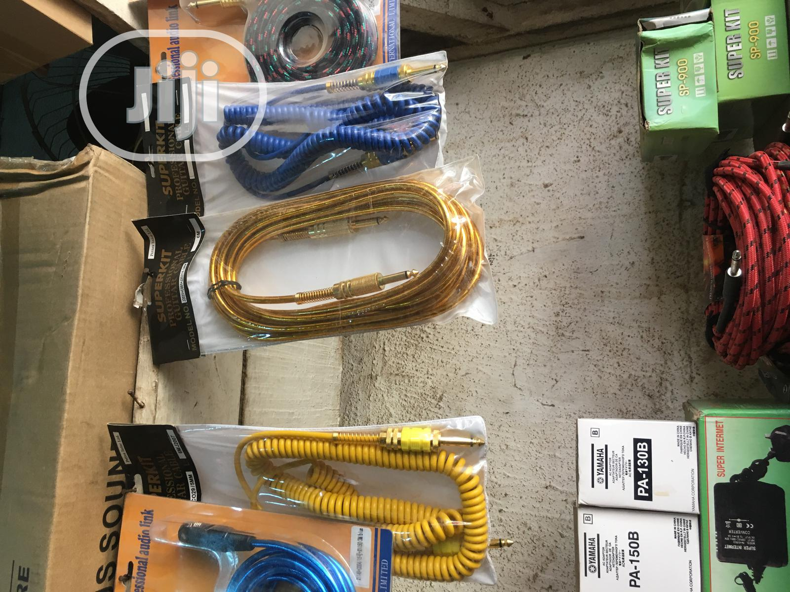 Original Guitar Cords   Musical Instruments & Gear for sale in Ojo, Lagos State, Nigeria